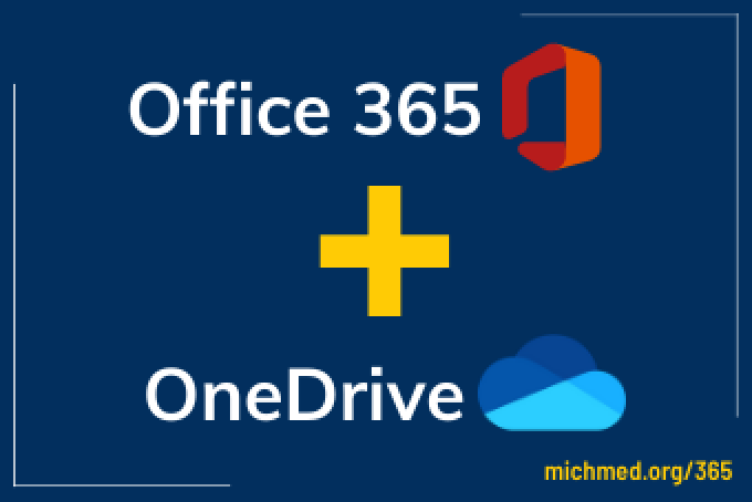 Office 365 plus OneDrive graphic