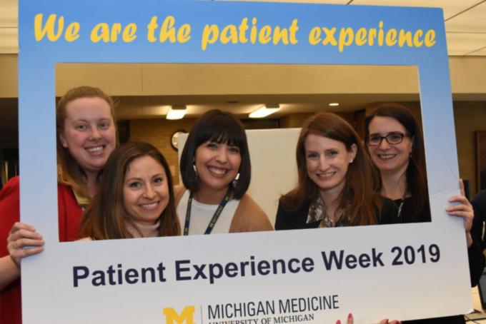 Patient Experience Expo participants.