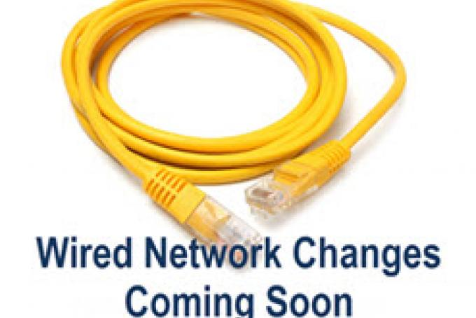 wired network changes