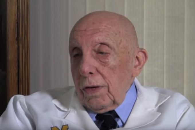Dr. Benedict Lucchesi, professor emeritus of phamacology