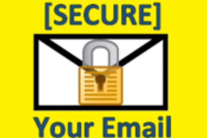 Secure your e-mail to protect patient health information