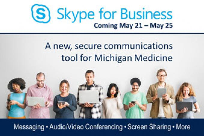 Skype for Business Coming May 21 through May 25, 2017