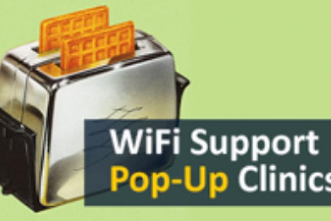 Pop Up Clinics : Wifi friday pop up clinics come to towsley triangle