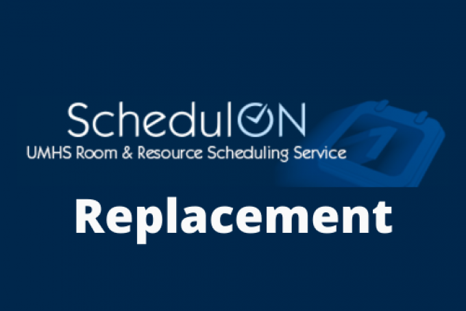 SchedulOn replacement project logo