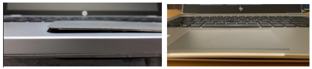 laptops experiencing battery swelling